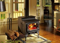 Buyer's Guide: The Best Wood Stoves - Wood Burning Fireplace Inserts Best Wood Burning Stove, Wood Burning Fireplace Inserts, Pergola, Stove Fireplace, Fireplace Design, Porch Fireplace, Gas Fireplaces, Modern Fireplaces, Shopping