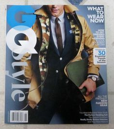 No Label NEW GQ STYLE Issue Spring 2016 WHAT TO WEAR NOW 30 Essential Trends MOD | eBay