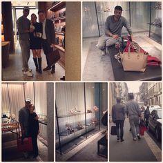 #CostantinoVitagliano Costantino Vitagliano: Con il mio #amico Ivan e la mia #amica direttrice da #Valentino.... #costantinovitagliano #milano #viamontenapoleone #shoes #bag #luxury #shopping