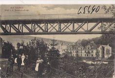 Eisenbahnbrücke in der Bonifatiusstraße 1907