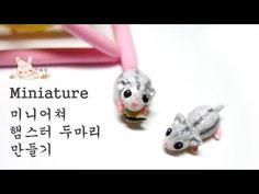 Miniature Dwarf Hamster air dry / polymer clay tutorial