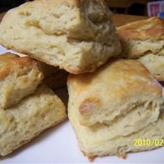 Fluffy Biscuits Allrecipes.com Very yummy and very easy!