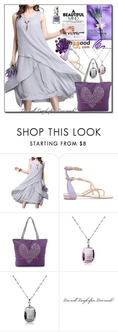 """""""Banggood 4 / VIII"""" by esma178 ❤ liked on Polyvore featuring Topshop and René Caovilla"""