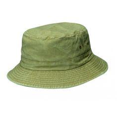 238de32876adb Dorfman Pacific Outdoor Sand Green Bucket Hat (Small Medium) Summer Bucket