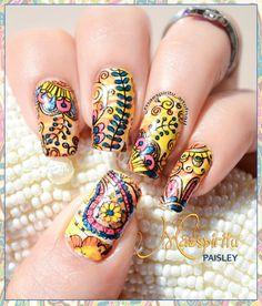 ART OF NAIL: Paisley Nail Art