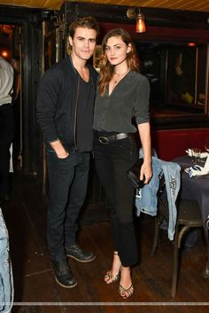 Paul and Phoebe at Frame dinner in NY