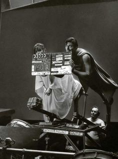 Margot Kidder and Christopher Reeves;  Oldskool and adorable.