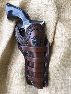 Leather Four-Loop Holster