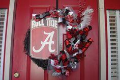 Alabama Crimson Tide Wreath