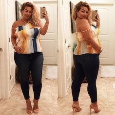Plus Size Fashion - Laura Lee Curvy Women Fashion, Look Fashion, Plus Size Fashion, Cheap Fashion, Ladies Fashion, Plus Size Looks, Plus Size Model, Jamaica Outfits, Plus Zise