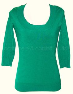 INC International Concepts NEW Scoop Neck Sweater Top Pine Green XS Stretch #INCInternationalConcepts #ScoopNeck