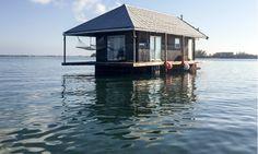 Casa flotante en Key West. Descubre en esta guía este y otros datos curioso sobre Key West.
