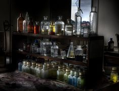 "Abandoned laboratory ~ ""We came accross this Abandoned laboratory still full of all types of nasty things !"" ~ andre govia @ flickr"