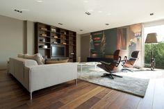 Interior design dandy office, Lounge chair Vitra