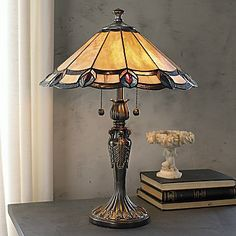 Dale Tiffany® Aldridge Peacock Table Lamp - jcpenney