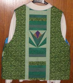 Vest, side one, back.