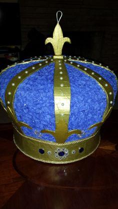 Royal Crown Pinata by PinataVille on Etsy https://www.etsy.com/listing/254129577/royal-crown-pinata