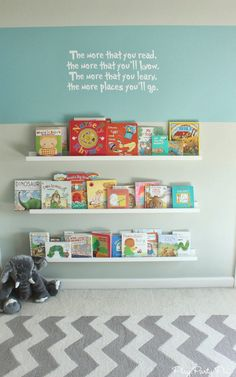 Perfect reading area for the classroom, between the kids desks using.