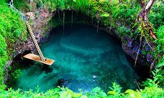 Vila de Lotofaga - Ilha de Upolu - Somoa