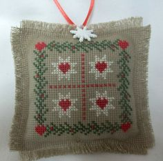 Quilt Pattern  Cross Stitched Christmas by luvinstitchin4u on Etsy, $16.95