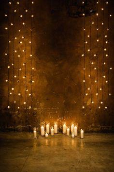 stunning wedding ceremony candle backdrops|PORTUGAL WHITE WEDDINGS