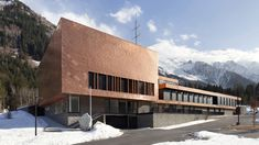 Chamonix Fire station by Studio Gardoni