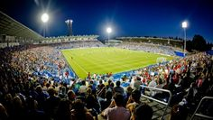 The Saputo Stadium is home to the Montréal Impact soccer team. With a spectator capacity of 20, 521, this is one of the premier sporting venues in Montréal.
