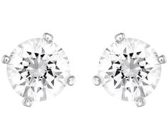 Two looks in one! Easy to wear on any occasion, this reversible pair of rhodium-plated pierced earrings makes an ideal gift. One side of each earring ... Shop now