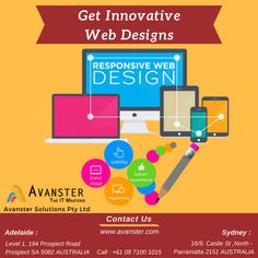 Affordable and Innovative website designing services in Sydney  A Good #design is a #silent #Brand #ambassador of a #business. A good design always #attracts the# viewer.  A Good design is the first thing that directly attracts the viewers.     #website #web_designs #IT_Company #web_development #SEO #PPC #SMO #Photoshop #Sydney #Adelaide