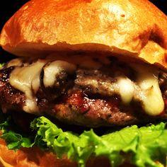 Mushroom Cheese Burger