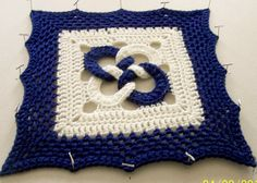 April 12 inch square by virginiasaccurso@yahoo.com, via Flickr-ravelry crochet a block a month in 2013
