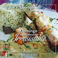 Consiente tu paladar con Brochetas de pollo y camarones en salsa blanca.  Orinokia Mall #ZonaGourmet. Y buen apetito!  #SencillamenteDelicioso #gastronomía  #restaurante  #puertoordaz #Guayana #gourmet #DondeTodoSeUne