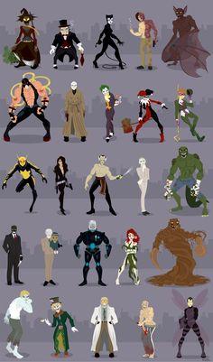 Gotham__s_Rogues_by_rickytherockstar