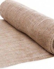 This roll of natural brown coloured hessian / burlap is perfect for a country, vintage or shabby chic wedding theme. Each roll of hessian measures 50 cm wide and 10 metres long. See our store for many other wedding reception decoration supplies.