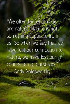 Losing connection with #nature is losing connection with ourselves. #witchywisdom #reconnect #paganpath