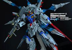 1/100 Providence Gundam Ver. Shako - Painted Build     Modeled by Hassaway