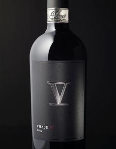 Davis Estates | Phase V Wine | Label & Package by CF Napa Brand Design