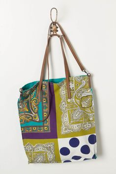 Social Patchwork Tote - Anthropologie.com