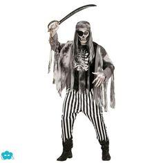 Disfraz de pirata zombie talla grande para hombre