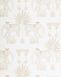 Serena & Lily Kalahari Elephant Safari Wallpaper And both of those units produce enough light useful Baby Wallpaper, Serena And Lily Wallpaper, Tier Wallpaper, Elephant Wallpaper, Animal Wallpaper, Textured Wallpaper, Pattern Wallpaper, Bathroom Wallpaper, Shopping