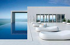 GUMBALL Deck loungers by Alberto Brogliato