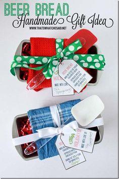 Bread Basket Handmade Gift Idea  #handmadegifts #christmas #giftideas