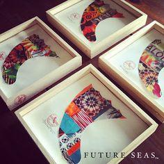 Future Seas Fins Surf Colorful Art Picture