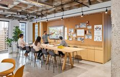 "The day after: Exploring the new ""normal"" in workplace design Corporate Interior Design, Corporate Interiors, Office Interiors, Corporate Offices, Big Architects, Award Display, Mini Office, Workplace Design, Co Working"