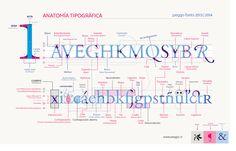 Anatomía Tipográfica by peggo fonts 2013 Lámina descriptiva realizada con motivo de las clases de Tipografía en curso este semestre en el Instituto… - PeGGO Pedro Gonzalez - Google+