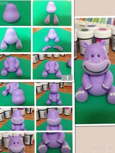 53 Ideas Cupcakes Decoration Fondant Animals For 2019 Fondant Cake Toppers, Fondant Icing, Fondant Figures, Fondant Cakes, Cupcake Toppers, Cake Topper Tutorial, Fondant Tutorial, Fondant Animals, Clay Animals
