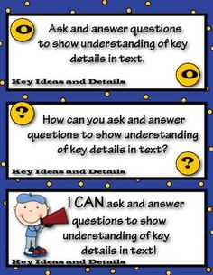 COMMON CORE I CAN STATEMENTS FOR ELA READING (2ND GRADE) - TeachersPayTeachers.com Free!