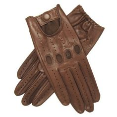 Leather Driving Gloves (Mocha)