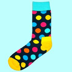 Buy Bassin and Brown spotted socks with contrasting heel and toes in six eye catching colours.Shop Bassin and Brown for stylish, quality socks. Yellow Turquoise, Navy Pink, Blue Orange, Polka Dot Socks, Polka Dots, Multi Coloured Socks, Brown Socks, Mens Fashion Blog, H Style
