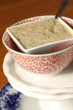 Dairy Free Cauliflower Cream Soup (Vegan, Paleo)- MyRealFoodLife.com